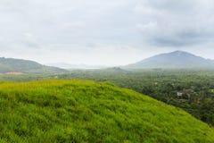 Горы в сезоне дождей Стоковая Фотография RF