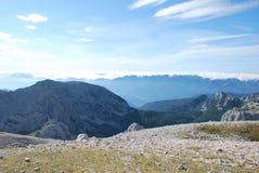 Горы в Словения Стоковые Изображения RF