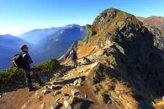 Горы в цветах осени, Zakopane Tatra, Польша Стоковые Фотографии RF