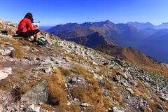 Горы в цветах осени, Zakopane Tatra, Польша Стоковая Фотография RF