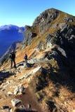 Горы в цветах осени, Zakopane Tatra, Польша Стоковые Изображения RF