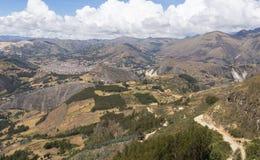 Горы в части 3 Перу Стоковые Изображения