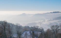 Горы в чехе Стоковое фото RF