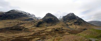 Горы в Шотландии Стоковое фото RF