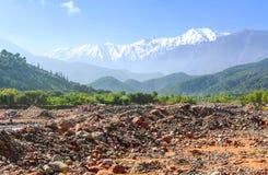 Горы в южном Марокко стоковое фото
