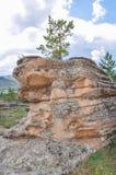 горы в bayanaul Стоковая Фотография