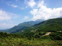Горы в Budva, Черногории Стоковая Фотография RF