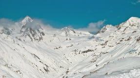 Горы в Georgia Стоковые Фото
