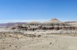 Горы в Ischigualasto, Ла луне Valle de Стоковая Фотография RF