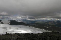 Горы в Jotunheimen Стоковые Фото