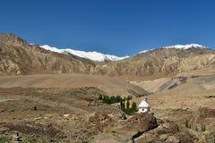 Горы в Ladakh в Индии стоковые изображения