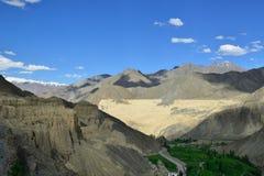 Горы в Ladakh в Индии стоковая фотография
