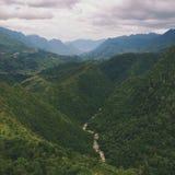Горы в Sapa стоковое фото