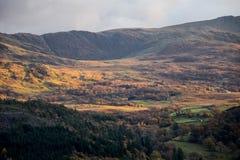 Горы в Snowdonia Стоковое Изображение RF