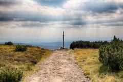 Горы гиганта чехии гребней козы Стоковые Фото