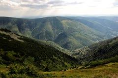 Горы гиганта чехии гребней козы Стоковая Фотография RF