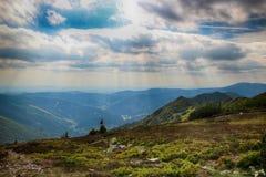 Горы гиганта чехии гребней козы Стоковые Изображения