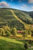 Горы гиганта чехии mlyn- Spindleruv Стоковые Изображения