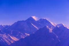 Горы Гималаев в Непале, взгляде малой деревни Браги на цепи Annapurna Стоковая Фотография RF