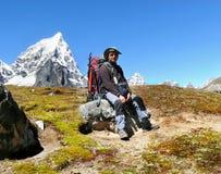Горы Гималаев, Стоковое Изображение