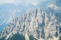 Горы горной вершины доломита Стоковое Фото