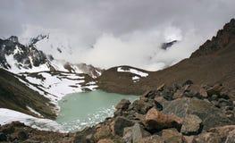 горы горы озера lac de Франции creno Корсики корсиканские альманаха Стоковое фото RF