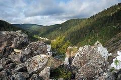 горы горы озера lac de Франции creno Корсики корсиканские Стоковое Фото