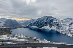 горы горы озера lac de Франции creno Корсики корсиканские стоковое фото rf