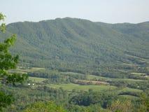 Горы голубого Риджа в Вирджинии Стоковое Фото