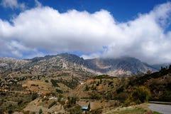 Горы Греции стоковые изображения rf