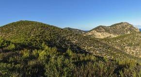 горы где-то Стоковое Фото
