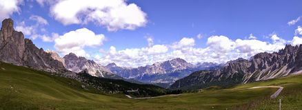 Горы доломита Стоковое Изображение RF