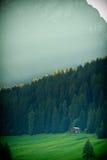 Горы доломитов в Италии Стоковая Фотография
