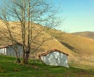 горы дома маленькие Стоковые Изображения RF