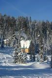 горы дома стоковая фотография