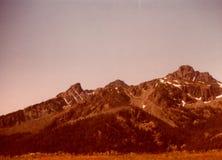 Горы дьяволов ` s 7 Айдахо Стоковое Изображение RF