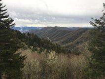 горы закоптелые стоковая фотография rf