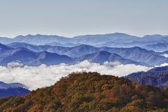 горы закоптелые Стоковое Фото