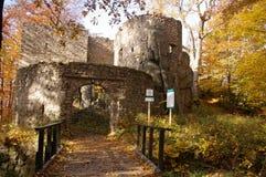 Горы замка w ³ Bolczà - Rudawy Janowickie Стоковые Фотографии RF