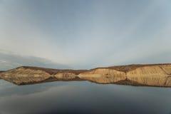 Горы змейки на Волге Стоковая Фотография RF