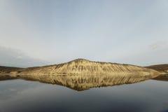 Горы змейки на Волге Стоковое фото RF