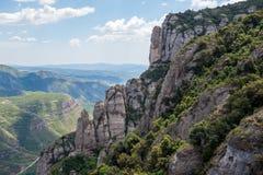 горы Испания Стоковые Изображения RF