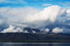 горы Исландии Стоковые Фото