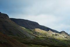 горы Исландии Стоковые Фотографии RF