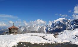 горы Италии alps высокие Стоковая Фотография
