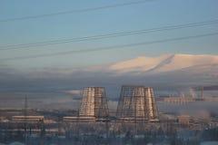Горы и завод Стоковое фото RF