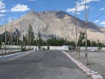 Горы и небо стоковые фотографии rf