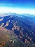 Горы и долины Стоковые Изображения RF