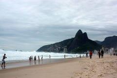 Горы и пляжи Бразилии Стоковая Фотография RF