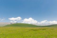 Горы и равнины Стоковая Фотография RF